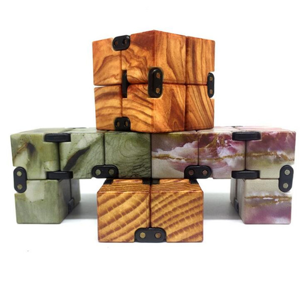 Puzzles Infinity Cube Magic Infinite Square Finger Decompression Antistress Resistance Toy Hand Spinner Magical Puzzle Creative Toys