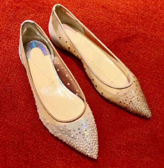 Mulheres verão moda magro calcanhar passarela Super Rhinestone rivet lace original sexy senhoras OL casamento colorido noiva calcanhar sapatos casuais ttyt13