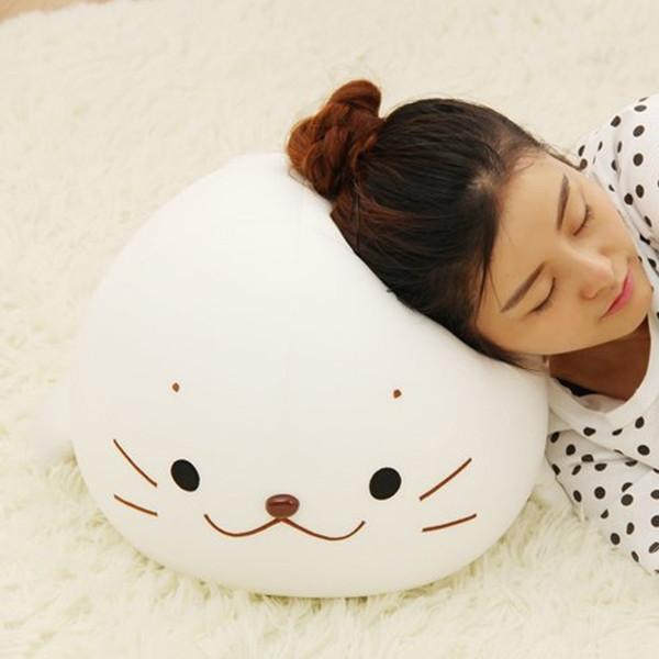 Stuffed Animals Stuffed Animals Super Soft Squishy Plush Seal Doll Sea Lions Plush Toys Cuddle Pillow Kids Toys Lovely Girlfriend