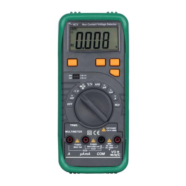 Digital Multimeter Voltage Current Tester Resistance Diode Capaticance Meter Temperature Meaurer Auto/Manual Range NCV Function