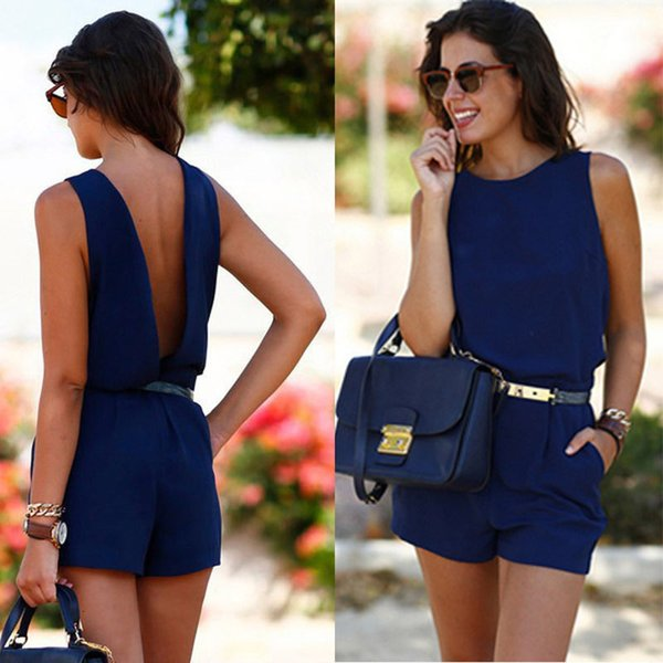 Mini Rompers Womens Bodysuit Summer Short Sleeve Round Neck Overalls Polyester Slim Lace Bodysuit Sexy Women Shirts Casual Jumpsuits