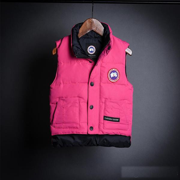2017 chaleco cálido de algodón para niñas chaleco para niñas gruesas chaleco para niños pequeños chaquetas para niñas ropa de abrigo ropa de invierno para niños
