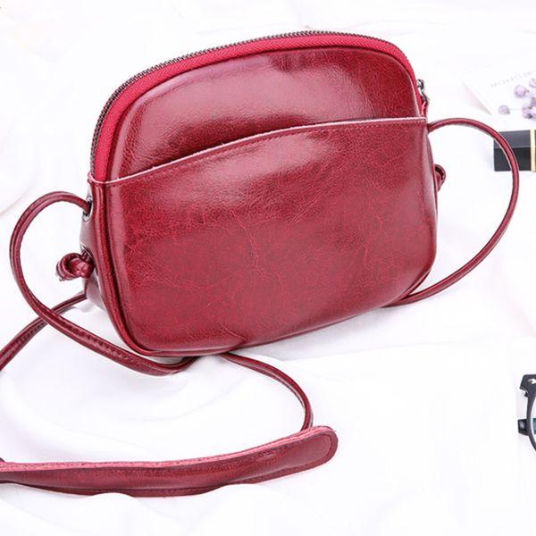 Pop2019 Paquet Femme seule épaule suture à charte oblique pour sac à bandoulière en alliage tout-aller Augmenter