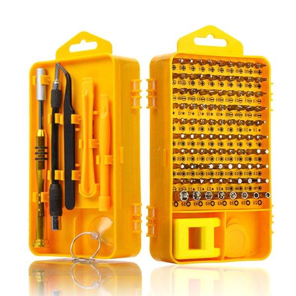 108 in 1 Screwdriver Sets Multi-function Computer Repair Tool Kit Essential Tools Digital Mobile Cell Phone Tablet PC Repair