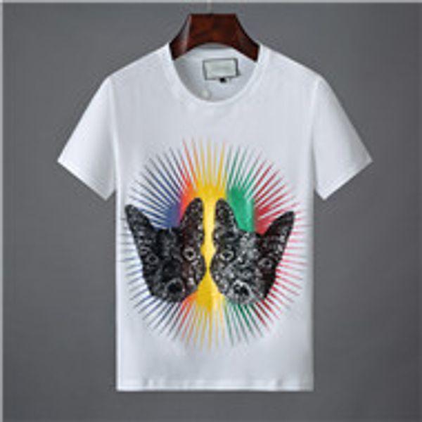 White fashion Letter Casual t shirt Medusa t-shirt popular Men Designer short sleeve T-shirt Italy Brand T-shirts Classic Luxury Embroidery