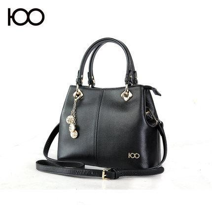 High-end Customized Sheepskin Woman Package Lock Catch Handbag Ma'am Extravagant Brand U.S.A Incense Special Counter Quality Goods