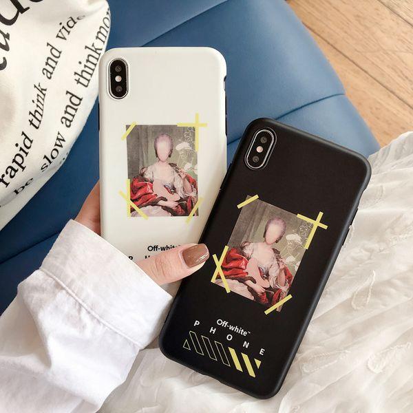 Модельер телефон случае для iPhone X XS Max XR 6 6s 7 8 плюс Mariana стильного телефона задней крышки