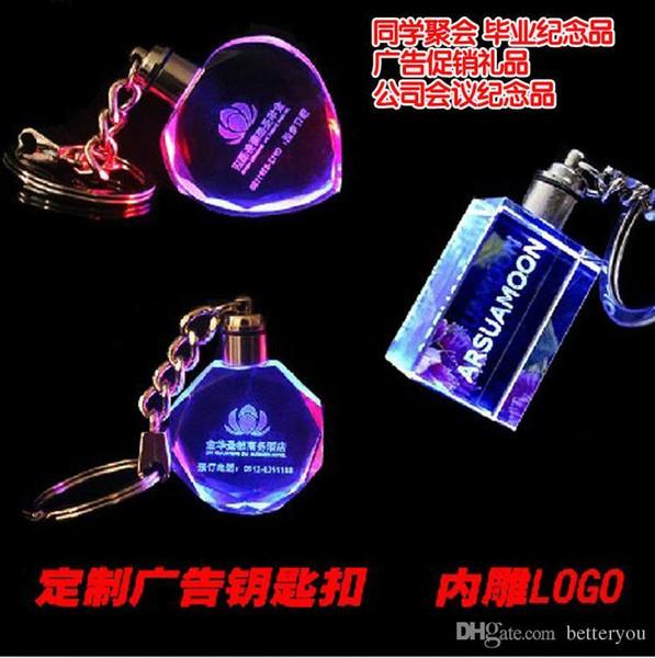 Crystal Keychain Luminous key ring