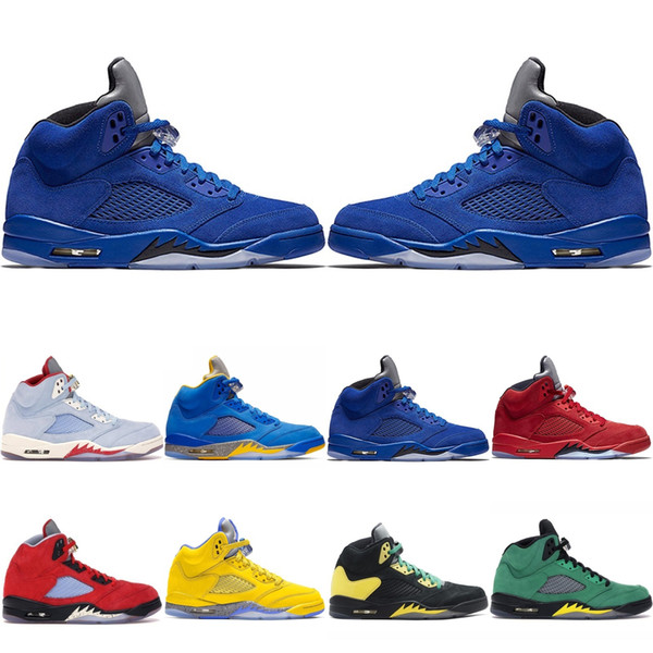 Nike Air Jordan Retro 5 5s 11s 12s 13s Mens Basketball Chaussures Bulls Platinum Tint Concord Black Cat Fresh Prince Hommes Sport Chaussures de sport 7-13 GGGH-