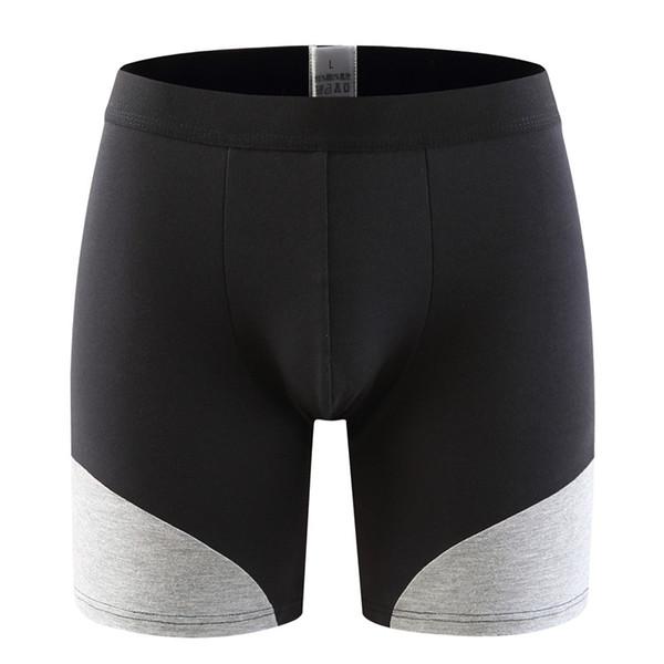 2019 Cuecas Calzoncillos 1packet Men's Boxer Underwear Pants Cotton Men Shorts Loose Calecon Pour Homme Mens Boxers Long Leg