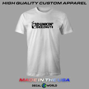 Kids Soft Cotton T Shirt Dunkin-DOUNUTS Stylish Crewneck Short Sleeve Tops Black