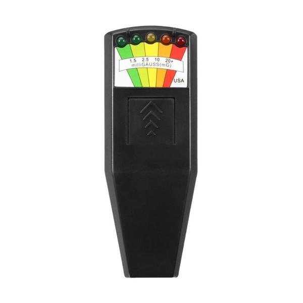 top popular K2 Electromagnetic Field EMF Gauss Meter Ghost Hunting Detector Portable EMF Magnetic Field Detector 5 LED Gauss Meter 2020
