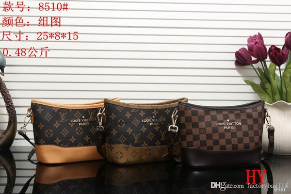 Novos estilos de Bolsa de Moda Bolsas de Couro Das Mulheres Tote Sacos de Ombro Bolsas de Couro Senhora Sacos de bolsa mochila 8510