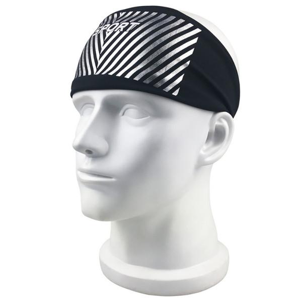 Wide Sport turban headband Sweatband Stretch Elastic Yoga Running Headwrap Hair Accessories For Women Ladies Antiperspirant tape #577542