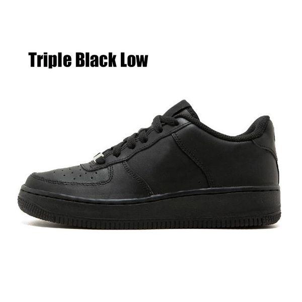 triple noir bas