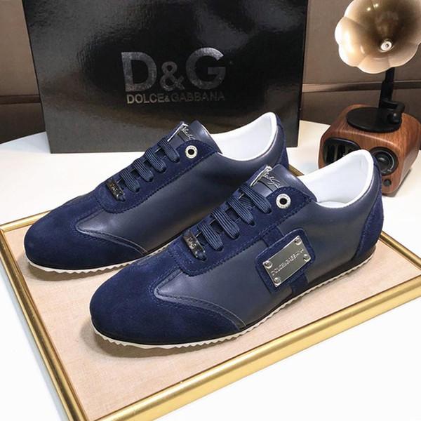 Rahat Spor Ayakkabı Sonbahar ve Kış Yumuşak FOOTWEARS Walking Moda Klasik Erkek Ayakkabı Moda Dantel-up Düşük En Lüks Erkekler Açık