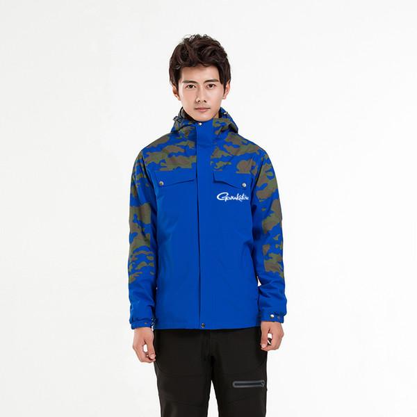 Giacca da pesca da uomo Gamakatsu impermeabile giacca a vento invernale escursionismo donna pesca abbigliamento cappotto due pezzi vestiti caldi