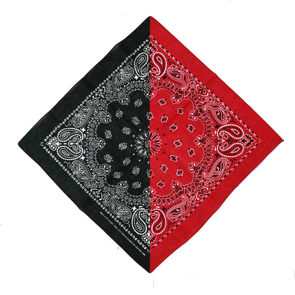 black red bandana
