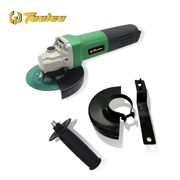 Toolgo 1050W Electric Angle Grinder Disc Side Grinder 100mm Cutting Grinding Machine For Home DIY