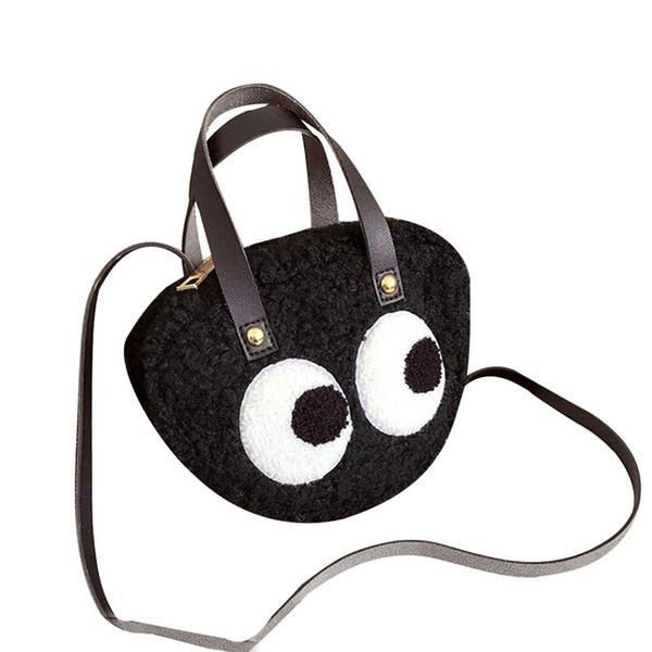 Fashion Women Tide Cartoon Big Eye Pattern Personality Crossbody bag Ladies Satchel Tote Strap Wild Bags Shoulder Messenger Bag