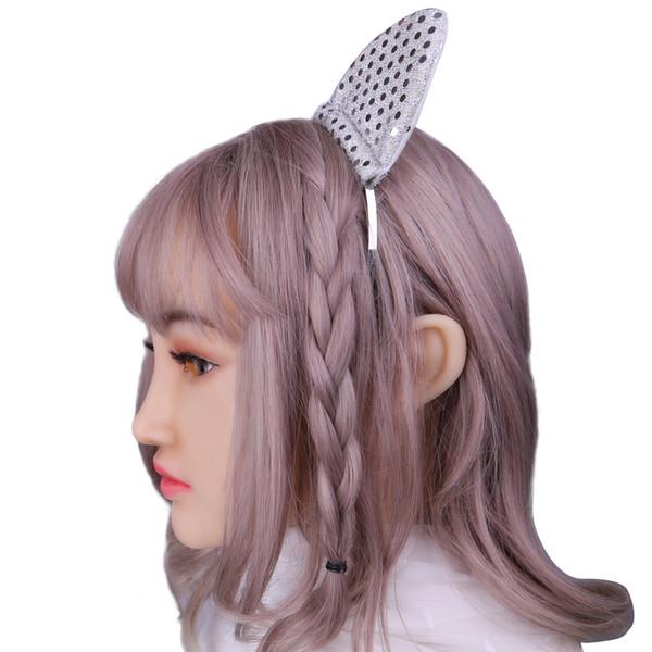 Super Soft Relaeastic Silicone Female Doll Head Mask Handmade Makeup Masks Eco-Friendly Crossdress Transgender Halloween Cosplay Mask