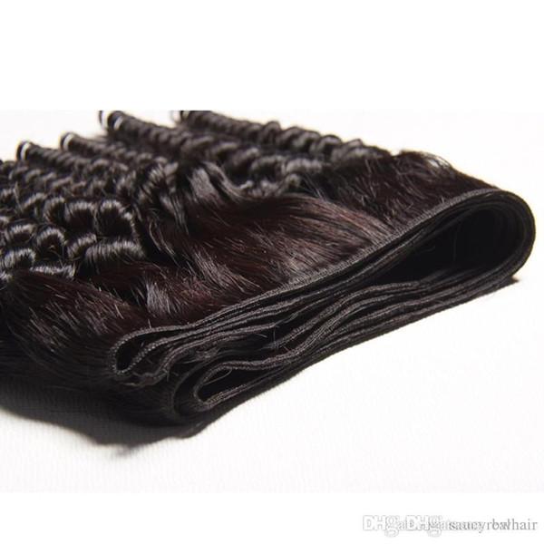 Funmi Curl New Fashion Hair Weaves 3 PC Lotto Capelli non trattati Estensioni Fumi Capelli ricci