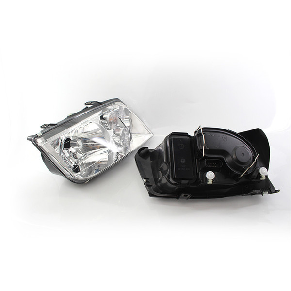 Front Chrome Clear Car Headlights For Volkswagen VW Jetta Bora Mk4 1998~2004 Car Light Assembly Auto Headlamp