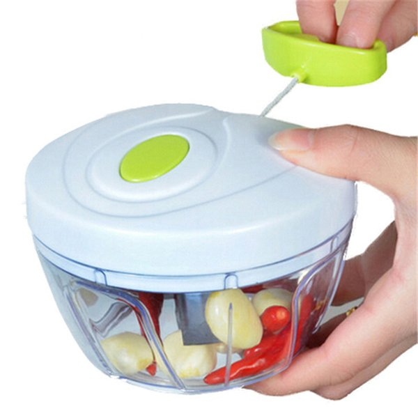 Multifunction High Quality New High Speedy Design Vegetable Fruit Twist Shredder Manual Meat Grinder Chopper Garlic Cutter