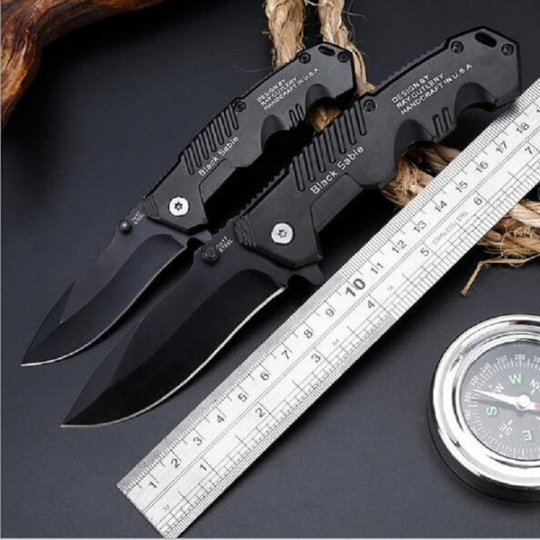 top popular Factory direct tactical automatic knife high hardness Wild survival multi-function folding knife self-defense outdoor knives good quality 2019