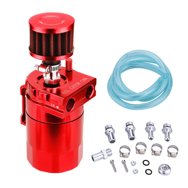 Car modified general oil breathable kettle accessories oil and gas separator oil filter pot secondary intake filter pot