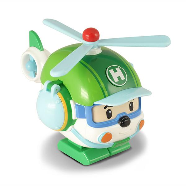 aereo giocattoli regali Silverlit Poli TRASFORMAZIONE ROBOT Helly buona bambini materiale a marchio giocattolo