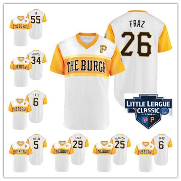 save off 60f36 91de8 2019 2019 Little League Classic Pittsburgh Jameson Taillon Jamo Felipe  Vazquez Nightmare Francisco Cervelli Cisco Stitched Pirates Jersey From ...