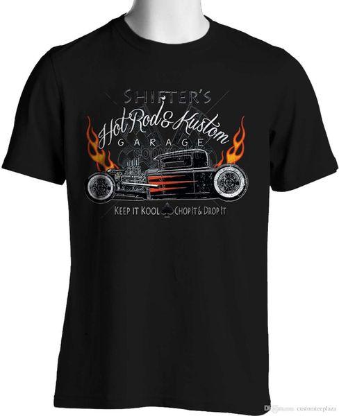 Cool Hot Rod Magliette Rat Rods Flames Whitewalls Retro Jalopy S A 6Xl E Tall Tee Shirt Uomo Man's Geek Bianco