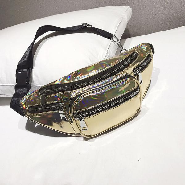 New Belt Bag Waist Men Fanny Pack Leather Pu black Waist Packs for Women Casual Travel Male Chest Bag High Quality 2019