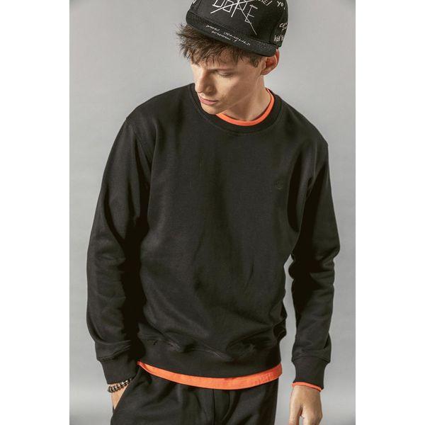 SIMWOOD 2019 Autumn New Hoodies Men Casual Minimalist Sweatshirt O-neck Embroidery logo Plus Size Basic Pullover SI980547