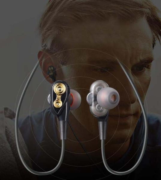 XT21 Double Dynamic HIFI Sport Kopfhörer BT4.2 Kabellose Bluetooth-Kopfhörer mit HiFi-Headset für Smartphones mit Retail-Box