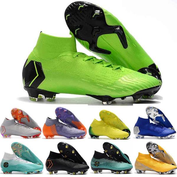 Nuevos zapatos de fútbol para hombre CR7 Melhor Elite Ronaldo KJ 360 FG Botas de fútbol Cristiano Ronaldo Hombres Tacos de fútbol