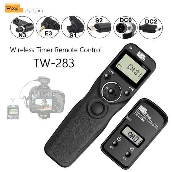 Pixel TW-283//E3 Supporto otturatore timer wireless per Canon E3