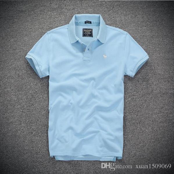 Herren POLO Shirts Sommer kurzärmelige koreanische Version der halbärmeligen Trend Revers T-Shirts Herrenhemden