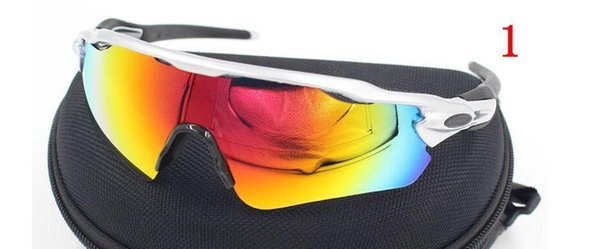 New fashion Radar EV sunglasses 5 pair of lens Cycling Eyewear men sunglasses outdoor sports cycling glasses Radar Polarized sun glasses