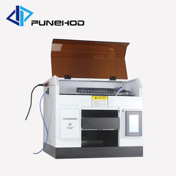 High t-shirt printing machine speed digital flatbed led uv glass printer