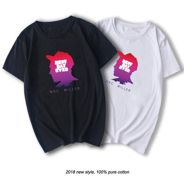 Miller T-Shirt Rap Men Cooles T-Shirt mit Grafikdruck Baumwolle O-Ausschnitt Hemden Sommer Casual Tops Streetwear Hip Hop Rapper Shirt