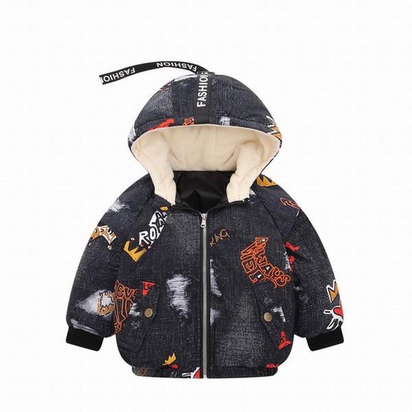 2019 Nuovo arrivo bambino Cappotto invernale premaman per bambini Capispalla per bambini Capispalla per bambini Capispalla Piumino per bambini