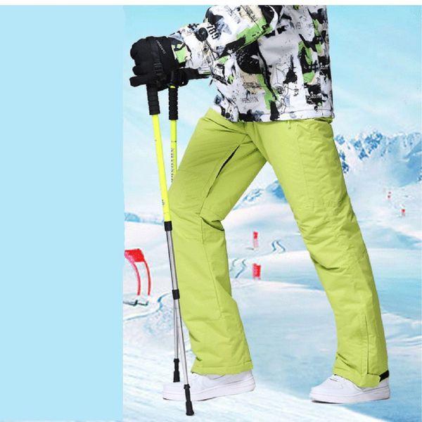 Climbing Men Ski Suit Sets Windproof Waterproof Winter Ski Pants Warm Breathable Men Pants 2018 New Arrival