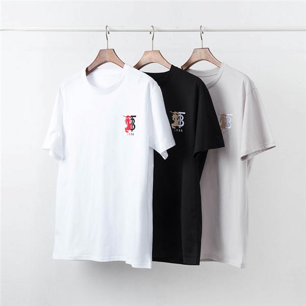 sıcak satış 2020 Yeni Lüks Moda Yaz Erkek Tasarımcısı Casual O-Yaka T Shirt Yüksek Kalite Kadınlar / erkekler Hip Hop Tee Streetwear 004 tops