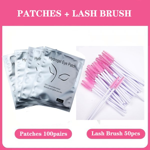 Pads and Lash brush