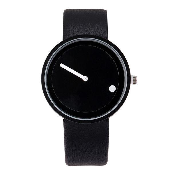 Heißer Verkauf Kreative Designer Quarzuhr Männer Lederband Uhren Studenten Unisex Einfache Armbanduhren Uhr Männlichen Geschenk Relogio Masculino