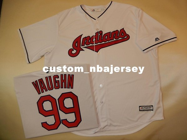 Cheap custom RICKY VAUGHN #99 Sewn Cool Base Baseball Jersey Stitched Customize any name number MEN WOMEN BASEBALL JERSEY XS-5XL