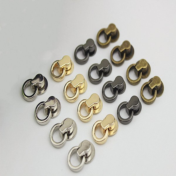 DIY Bag Parts Accessories Luggage Bag Buckle Tongs Snap Hook Ring With Scre MA