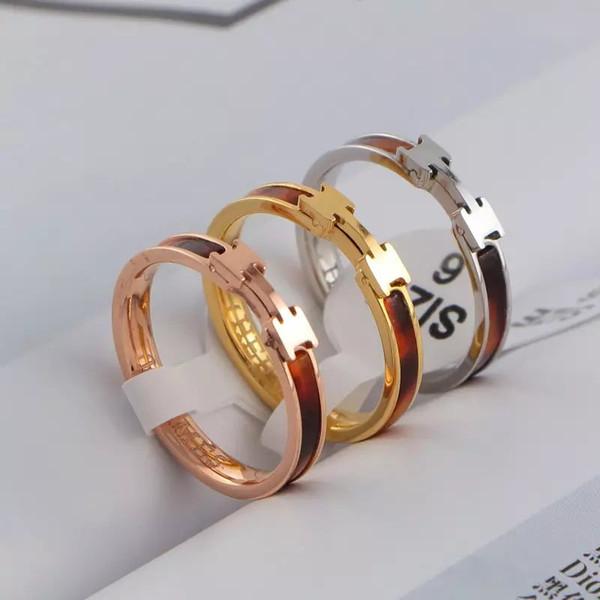 2019 neue Luxus Top Qualität Manschette Ohrring Halskette Ring Für Männer Frauen Quarz Herm Beste Geschenk Schmuck Designer Marke Ringe
